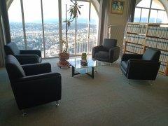 Bibliothèque Nice Mont-Gros  Espace visiteurs